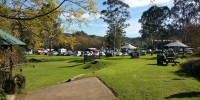 Grounds of Wollombi Tavern on Market Day