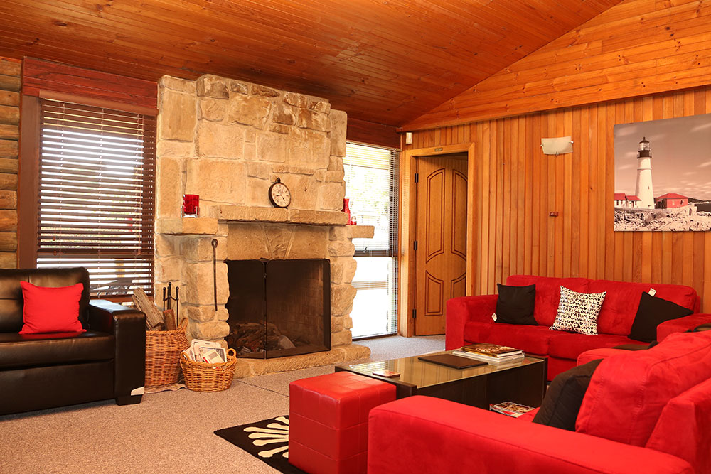 Enjoy a drink in front of the fire in historic Wollombi